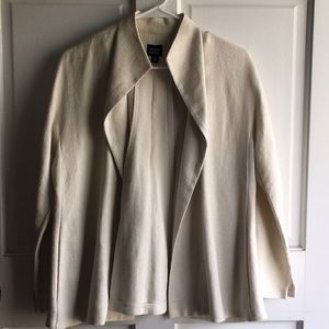EILEEN FISHER LINEN JACKET SIZE M